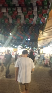 Small night market