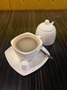 Coffee at Shark Bites Toast