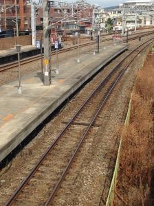 Fengyuan Train Station platform