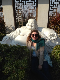 Hanging out with fat, laughing Buddha
